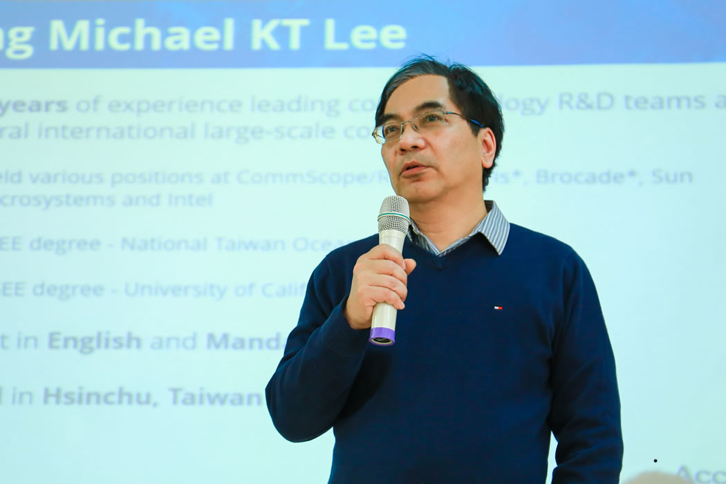 Michael K.T. Lee, Senior Vice President, R&D Center of Accton Group